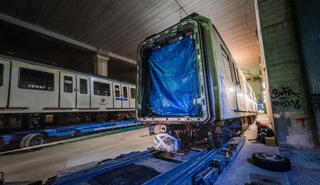 Imatge de la primera de les unitats que modernitzarà Tradinsa.
