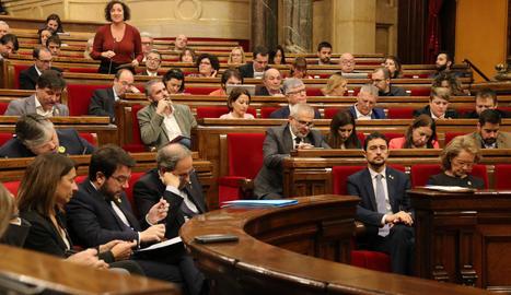 El Parlament reivindica de nou l'exercici del dret a l'autodeterminació