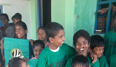 L'equip Lleides ajudarà els nens de l'Índia.