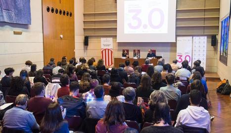 La UdL va acollir ahir el XXI Fòrum d'Estudis sobre la Joventut.
