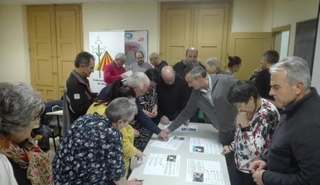 En la reunió es va parlar sobre objectius marcats per la Confav.