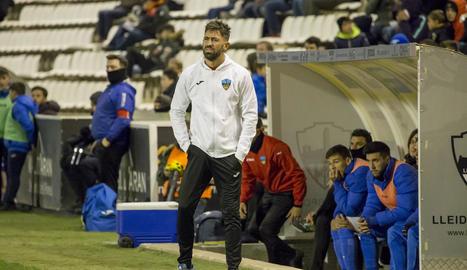 Molo, dissabte passat, en el partit davant del Barça B.