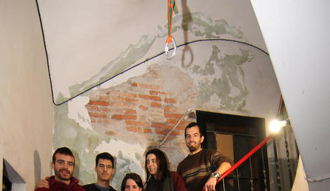 Alguns dels membres de Sostre Cívic de Lleida.