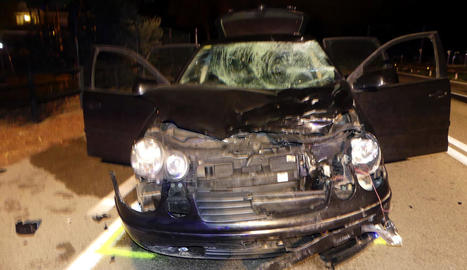 Mor una motorista al ser envestida per un cotxe al Maresme