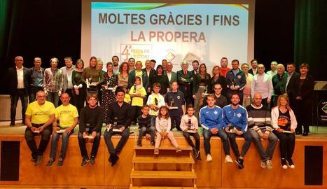 Alcarràs reconeix els seus 22 clubs a la IV Festa de l'Esport
