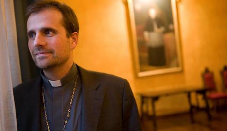 Imatge d'arxiu del bisbe de Solsona, Xavier Novell.