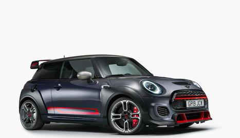 El nou Mini John Cooper Works GP és el model més ràpid de la marca britànica aprovat per a ús a la carretera.