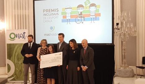 El Fedac Lleida, premiat a la gala de l'esport inclusiu