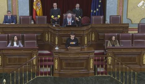 Rosique se salta les regles i nomena condemnats del procés en la sessió constitutiva del Congrés