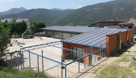 Imatge de l'escola Arnau Mir, a Ribera d'Urgellet.