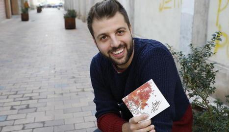 El cantautor del Maresme Abel Munné presentarà demà a La Boîte el primer àlbum d'estudi.