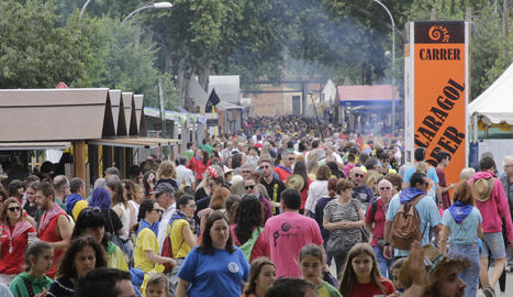 Vista del públic a la passada edició de l'Aplec del Caragol de Lleida.