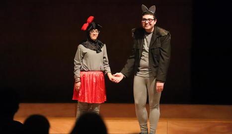 L'acte organitzat al Teatre L'Amistat de Mollerussa.
