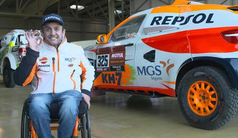 El cotxe d'Esteve, rumb al Dakar