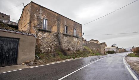 Imatge del local social de Pavia, al municipi de Talavera.