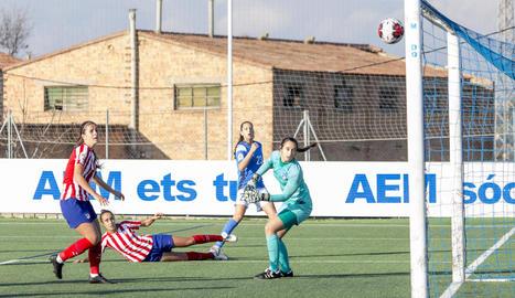 Andrea Gómez aconsegueix l'empat al minut 89 després d'una gran jugada personal a l'àrea.