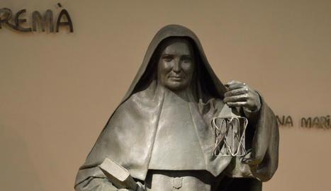 materials diversos. Escultures de temàtica eclesiàstica, animals, dibuixos i pintures conviuen a la trajectòria de Rebeca Muñoz.