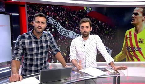 'Deportes Cuatro' en ple esforç.