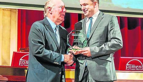 El president d'ActelGrup, Josep Maria Codina, va recollir el premi.