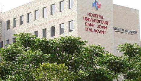 Els dos ferits a l'accident van ser traslladats a l'Hospital Universitari Sant Joan d'Alacant.