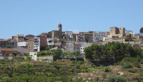 Imatge panoràmica de l'Albagès