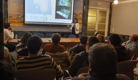 La presentació del projecte va tenir lloc dijous passat.