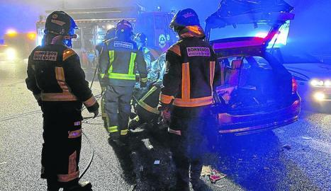 Mor al xocar amb un cotxe que anava contra direcció a Madrid