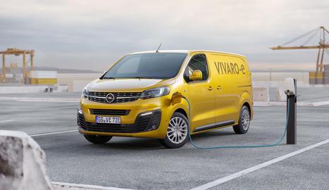 El nou Opel Vivaro-e estarà disponible amb una bateria de 50 kWh, i una autonomia de fins a 200 km, o de 75 kWh amb un abast de fins a 300 km, segons la normativa WLTP1.