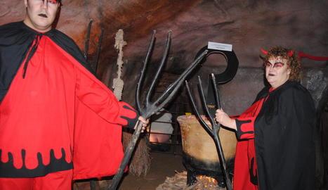 Les calderes de Pere Botero, una de les escenes del pessebre.