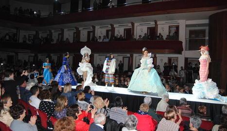 El teatre L'Amistat, seu de la gala.