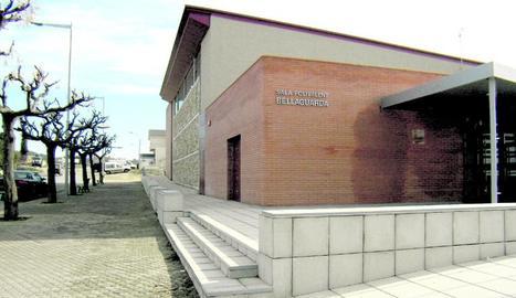 La sala polivalent que acollirà l'obrador comunitari.