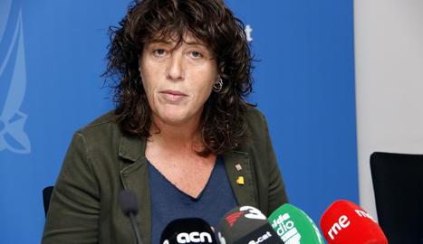 La consellera d'Agricultura, Teresa Jordà.