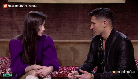 Gianmarco i Adara, de 'GH VIP 7'.