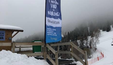 L'estació de Tavascan ja ha obert les seues instal·lacions d'alpí.