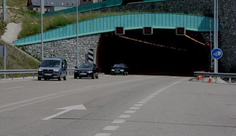 Imatge d'arxiu del túnel de Vielha.