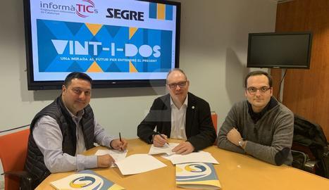 SEGRE i el Col·legi d'Enginyeria Informàtica de Catalunya firmen un acord