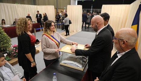 Votació a Escaldes-Engordany.