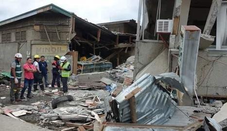 El sisme va provocar nombrosos danys materials.