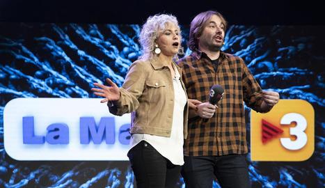 Mònica Terribas i Quim Masferrer.