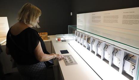 L'actual exposició al CaixaForum Lleida, 'Experiment any 2100'.
