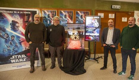 Representants de Circuit Urgellenc, Galacticat i pastisseria Nicolau.