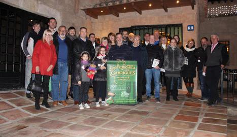 El restaurant Masia Les Garrigues va acollir el sopar de clausura.