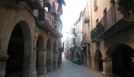 Imatge d'arxiu de Juneda, que ha estrenat mercat.