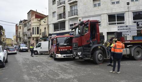 Els Mossos van obrir una investigació per determinar les causes de l'accident.