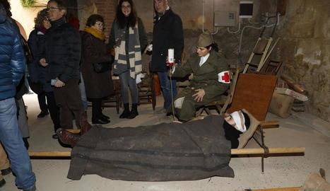 El Soleràs dignifica les víctimes de la Guerra Civil amb una ruta guiada