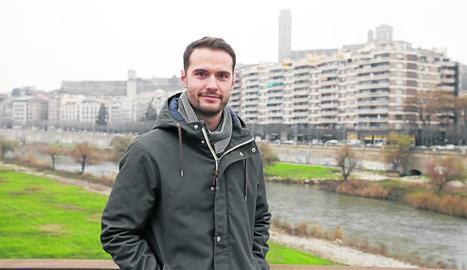 Albert Ochagavia Tobeña ha passat el Nadal a Lleida amb la família.