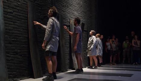 núria boleda. Cal Trepat també ha servit d'escenari d'obres que s'han representat a FiraTàrrega.