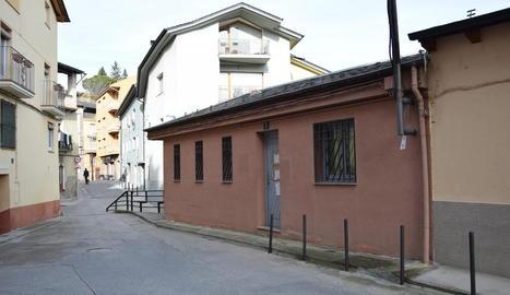 Les antigues instal·lacions de l'emissora municipal RàdioSeu.
