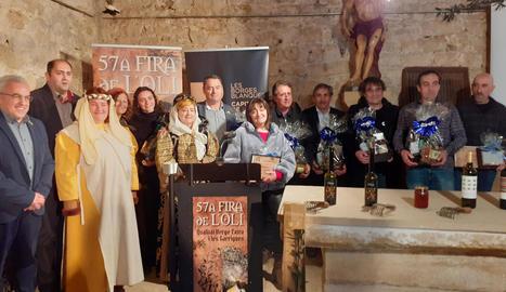 La presentació al Vilosell de la Fira de l'Oli de les Garrigues.