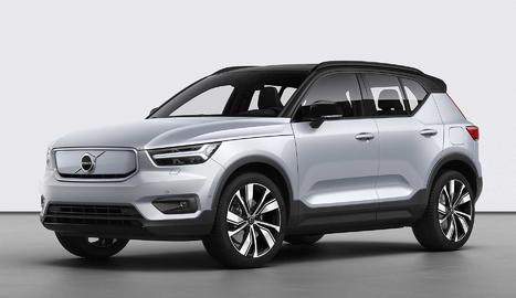 Volvo ha presentat el primer dels seus models 100% elèctrics amb el nom d'XC40 Recharge.